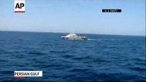 Raw US Navy Fires Warning Shots Near Iran Ship