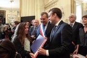 Discours d'Emmanuel Macron à la cérémonie de naturalisation à la Préfecture du Loiret