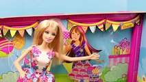 Barbie Chelsea Birthday Party Playset with a Stacie Pink Barbie Doll Toy Review by DisneyC