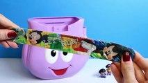 Доры рюкзак сюрприз Яйца Дора в Проводник Пеппа свинья микки мышь Яйца сюрприз