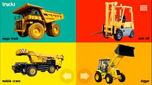 100 Vehicles - Trains Airplanes Construction Vehicles Bulldozer Dump Truck Mighty Machines