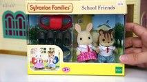 Baie calicot bestioles des familles bosquet enfants jouer examen école jouets déballage Sylvanien