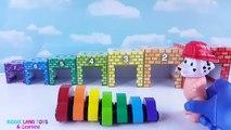 Enfants les couleurs enfants Apprendre imbrication nombres patrouille patte rampe Tri tout petit vidéo Garages r