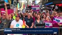 Etats-Unis: Donald Trump veut interdire les personnes transgenres dans l'armée américaine