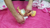 Bébé soins poupée aliments fille le déjeuner nouveau née jouer temps équipe jouet vidéos Nenuco doh bathtime