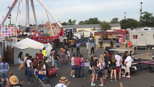 USA: One dead, several hurt in Ohio fairground accident ...