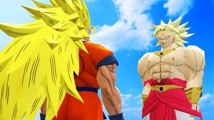 GOKU VS BROLY - DRAGON BALL BATTLE
