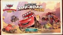 Des voitures extrême amusement amusement des jeux foudre hors route se ruer McQueen Disney Junior