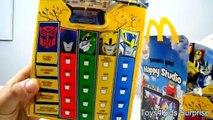 Déguisement content dans enfants masques repas Ensemble jouets transformateurs 2016 mcdonalds robots 4 collectio