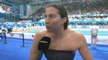 100M nage libre - Charlotte Bonnet qualifiée pour les demi-finales !