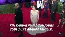 Kim Kardashian bientôt maman : la mère porteuse de la star est enceinte de 3 mois
