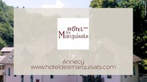 Hôtel 3 étoiles à proximité du lac d'Annecy, Hôtel des Marquisats à Annecy (74)