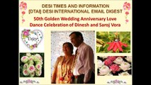 50th Golden Wedding Anniversary   Celebration Dance Video 6 - Dinesh & Saroj Vora