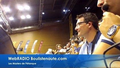 WebRADIO MASTERS de PÉTANQUE à Clermont-Ferrand 2017