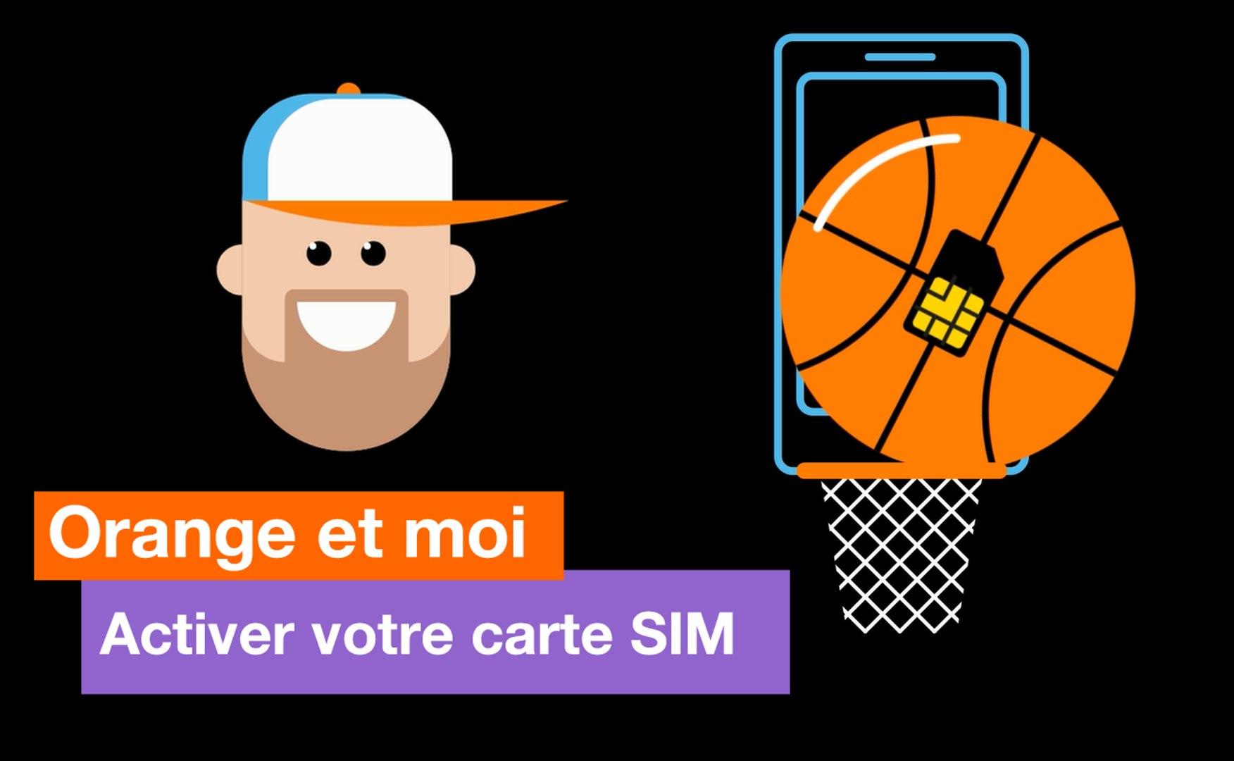 activer carte sim la poste Orange et moi   Activer votre carte SIM   Orange   Vidéo Dailymotion