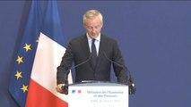 Bruno Le Maire annonce la nationalisation temporaire de STX