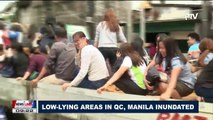 Low-lying areas in Q.C., Manila inundated