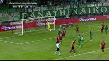 Guillermo Molins penalty Goal HD - Panathinaikos 1 - 0 Gabala  - 27.07.2017 (Full Replay)