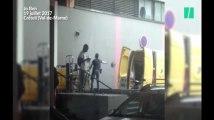 La Poste fait scandale avec cette vidéo montrant un employé jeter des colis à Créteil
