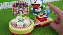 Animación equilibrar juego Casa papel juguete frente a Nobita Doraemon ド ラ え も ん cra Doraemon Nobita Alpaco