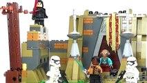 Éveille bataille obliger sur examen étoile le le le le la guerres Lego 75139 takodana
