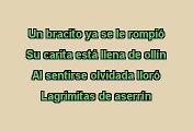 Cri - Cri -  La Muñeca Fea (Karaoke)