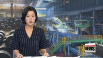 Korea's production across all industries dropped 0.1% in June m/m