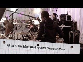 Akim & The Majistret - Potret (Drummer's View)