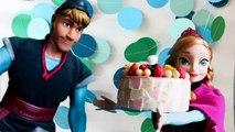 Princesa Juguetes Anna Cumpleaños En Frozen De Fiesta Vídeos rBeodxCW