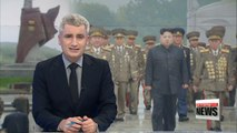 N. Korean leader Kim Jong-un visits Pyongyang cemetery to commemorate war veterans of Korean War