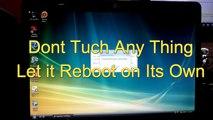 HP 2000 TPN-I108 Notebook Factory Reset Windows 8 - video