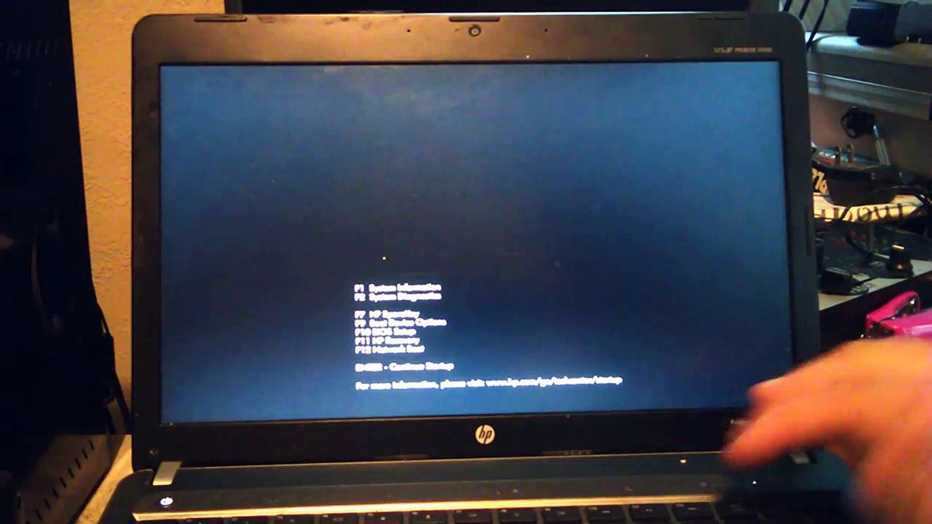 HP ProBook 30s Factory Reset For The Everest University Online Windows 30