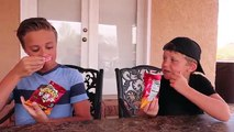 Warhead Candy Soda Challenge! Kid TRIES WEIRD SODAS (EXTREME NASTY)