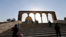 Ιερουσαλήμ: Μπλόκο στους άνδρες κάτω των 50 στην πλατεία των Τεμενών για την προσευχή της Παρασκευής