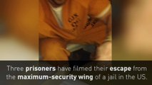 Aux Etats-Unis, trois détenus filment leur évasion de prison