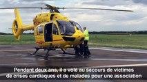 Londres: William pose son hélicoptère pour son rôle de prince