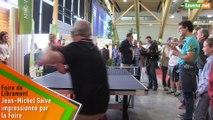L'Avenir - VIDEO | Jean-Michel Saive impressionné par sa première Foire : «Je me pèserai mardi matin »