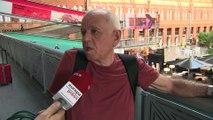 Viajeros atrapados en Atocha por huelga de Renfe y Adif
