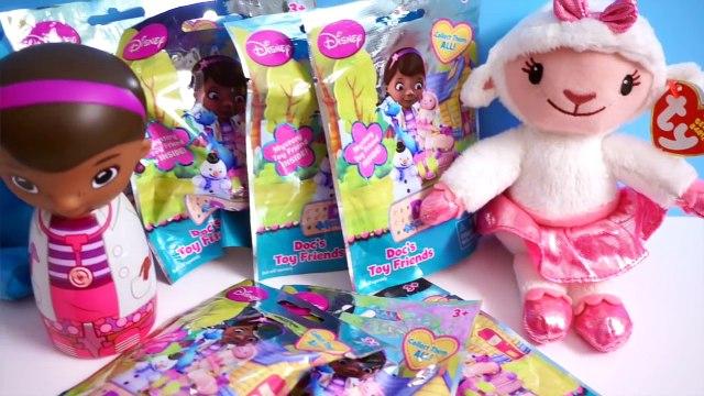 Bolsas ciego caja amigos señor sorpresa juguetes Doc, mcstuffins, disney, jr, lambie, kirby, doc, openi