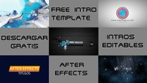 TOP 5 Intro Templates | Intros Editables | Proyecto Adobe After Effects | part 1
