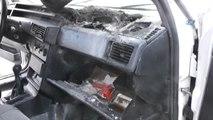 Otomobilde Unutulan Cep Telefonu Sıcaktan Patlayarak Aracı Yaktı