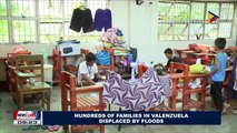 Hundreds of families in Valenzuela displaces by floods