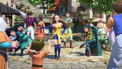 Dragon Quest XI : Opening Cinematic Movie Trailer (Dragon Quest 11) Nintendo Switch PS4 2017