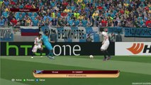 Zenit St Petersburg vs Sevilla - Highlights - UEFA Europa League - PES 15 - Round of April 23