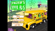 Bob léponge école autobus Bob léponge pantalons carrés des jeux