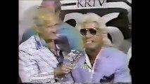 Ric Flair/Barry Windham/Arn Anderson vs Lex Luger/Steve Williams/Nikita Koloff (Houston June 10th. 1988)