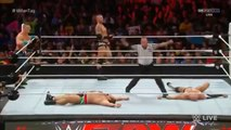 JOHN CENA AND RANDY ORTON AND CESARO VS KEVIN OWENS AND RUSEV AND SHEAMUS - WWE Wrestling - Sports MMA Mixed Martial Arts Entertainment
