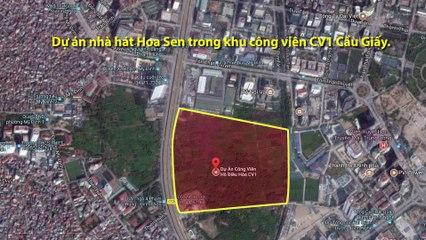 Cận cảnh nhà hát Hoa Sen 'lớn và hiện đại nhất thủ đô'