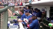 CIN@CHC: Lees first Wrigley homer with Cubs is grand slam