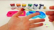 Enfants les couleurs couleurs pour Apprendre apprentissage peindre peinture arc en ciel collection